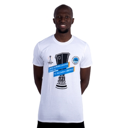 Tshirt Europa League white - unisex